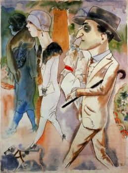 George Grosz : Spring in Paris