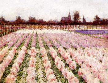 George Hitchcock : Field of Flowers