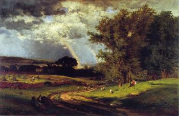 George Inness : A Passing Shower