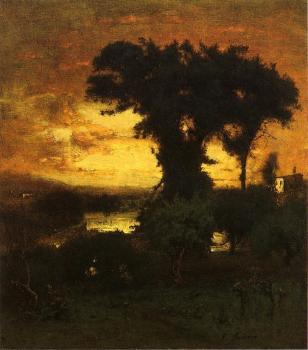 George Inness : Afterglow