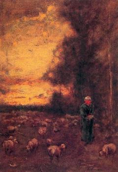 George Inness : End of Day Montclair