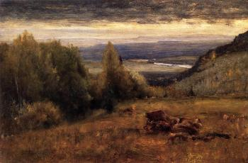George Inness : From the Sawangunk Mountains