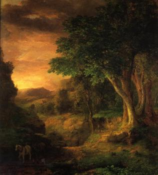 George Inness : In the Berkshires