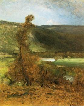 George Inness : North Conway White Horse Ledge