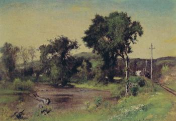 George Inness : Pompton Junction