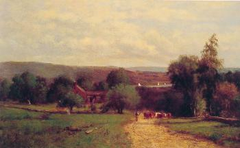 George Inness : Spring