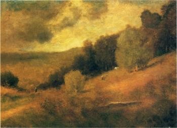 George Inness : Stormy Day