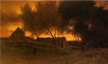 George Inness : The Gloaming