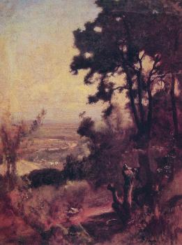 George Inness : Valley Near Perugia