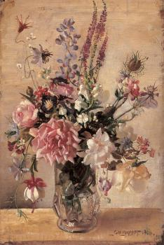 George Lambert : A Garden Bunch