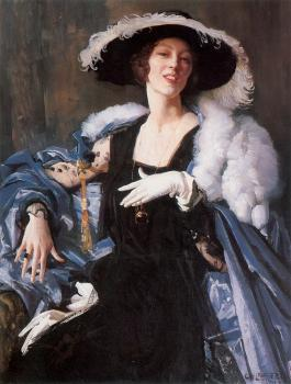 George Lambert : The White Glove