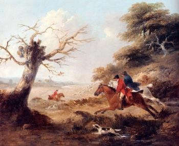 George Morland : Full Cry