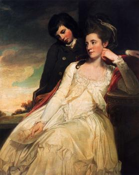 George Romney : Jane Maxwell Duchess Of Gordon