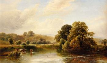 George Turner : The Trent Near Ingleby