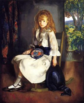 George Wesley Bellows : Anne in White