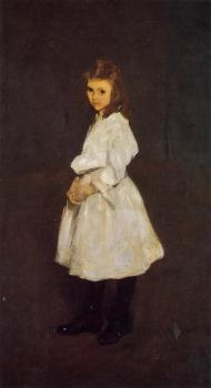 Little Girl in White aka Queenie Barnett