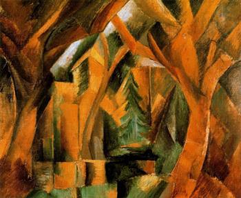 Georges Braque : El parque de CarriEres Saint-Denis