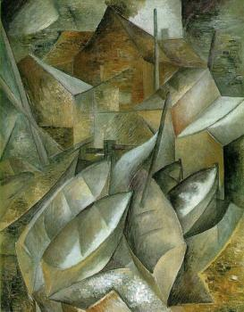 Georges Braque : Fishing Boats