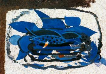 Georges Braque : Blue Aquarium