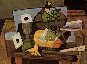 Georges Braque : Bodegon del clarinete