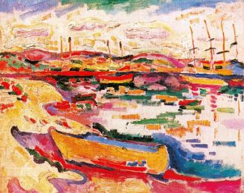 Georges Braque : Landscape at La Ciotat II