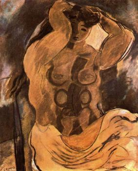 Georges Braque : Nude