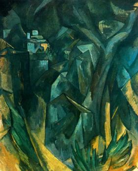 Georges Braque : Paisaje de L'Estaque