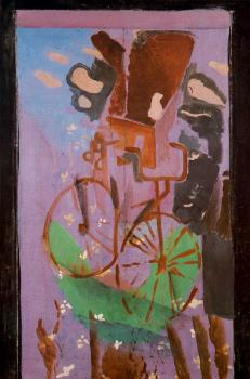 Georges Braque : The Bicycle