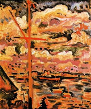 Georges Braque : The Port of Antwerp: the Mast