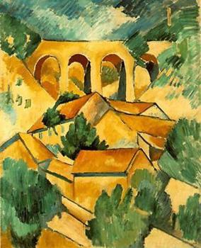 Georges Braque : Viaduct at L'Estaque