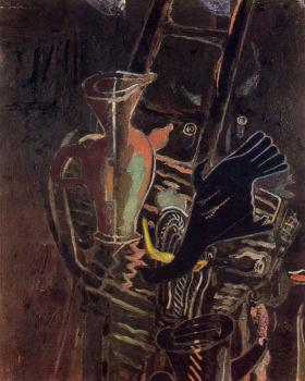 Georges Braque : Still life with Stairs