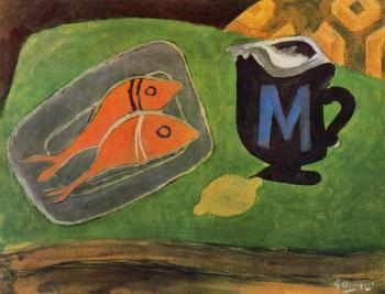 Georges Braque : Both Salmonetes