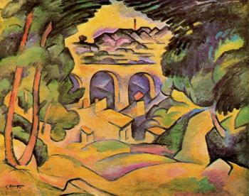 Georges Braque : El viaducto de L'Estaque