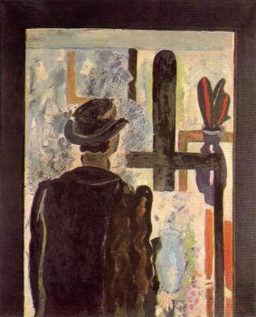 Georges Braque : A man at the easel