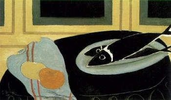 Georges Braque : Black Fish