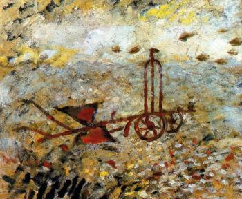 Georges Braque : The Metallic Plow
