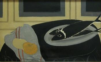 Georges Braque : Black Fish II