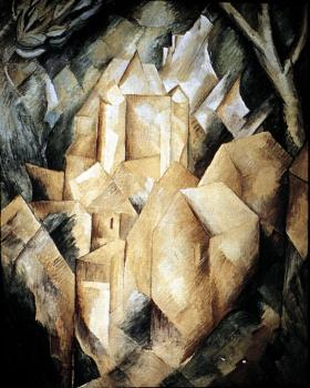 Georges Braque : A House at Estaque
