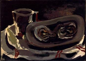 Georges Braque : Oysters