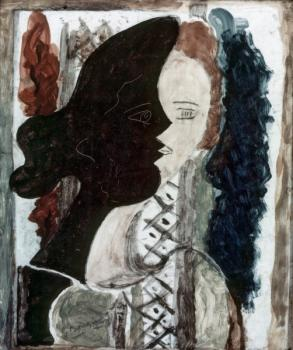 Georges Braque : Figure double