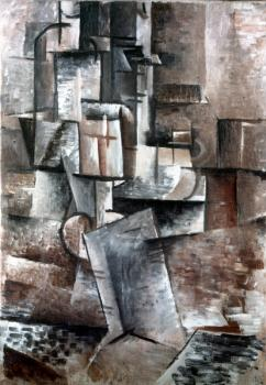 Georges Braque : Abstract painting