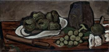 Georges Braque : Still life with fruits