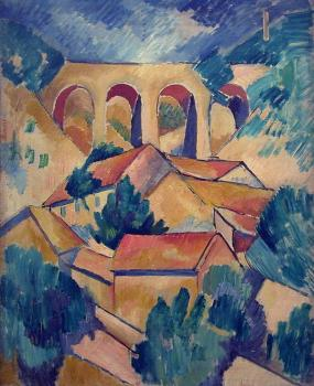 Georges Braque : Viaduct at L'Estaque III