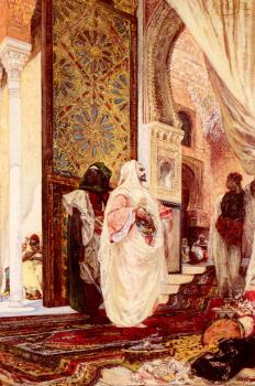 Georges Jules Victor Clairin : Entering The Harem