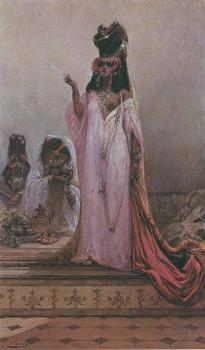 Georges Jules Victor Clairin : Harem Woman
