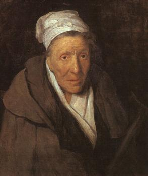 Theodore Gericault : Woman with Gambling Mania