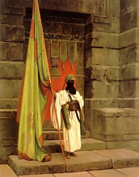 Jean-Leon Gerome : The Standard Bearer