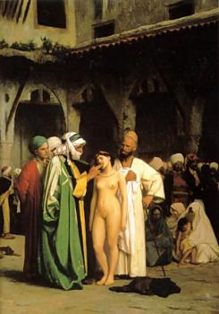 Jean-Leon Gerome : The Slave Market