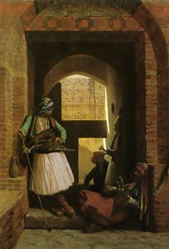 Arnauts of Cairo at the Gate of Bab-el-Nasr