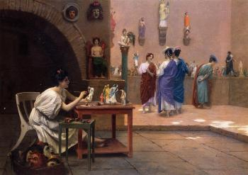 Jean-Leon Gerome : Painting Breathes Life into Sculpture